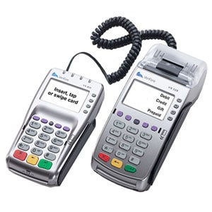 Verifone EMV VX 520 Credit Card Machine